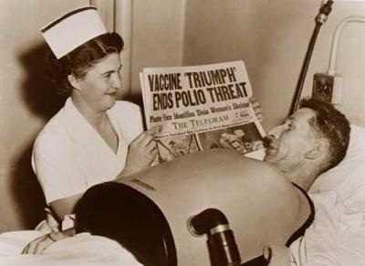 Polio-Patient