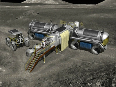 Nasa Moon Base