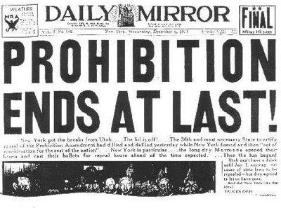 Prohibition-Ends