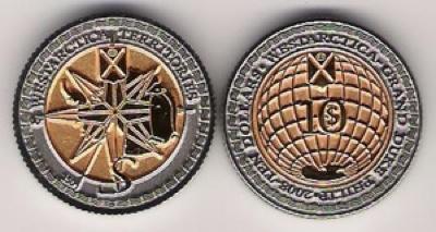 Wes183 - Grand Duchy Of Westarcitca $10 2008