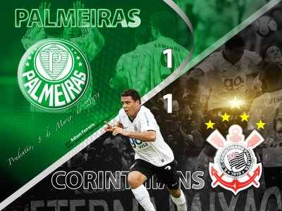 Palmeiras Vs Corinthians Finalizado 1600X1200