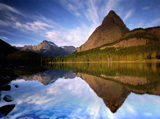 Bliss Scenery, Mountain Lake