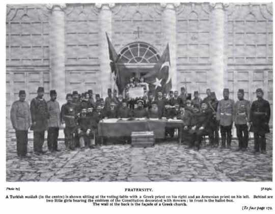 Young Turk Revolution - Decleration - Armenian Greek Muslim Leaders