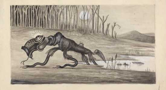 a large mythical creature Mythical Creatures Sightings