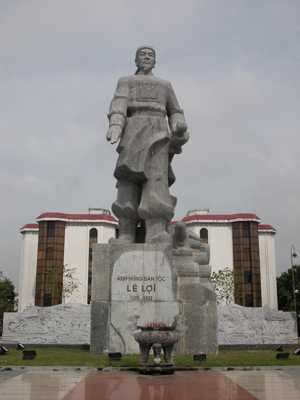 Le Loi Statue