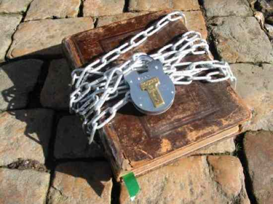 Chained Bible