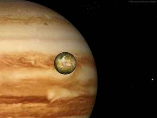Jupiter Io Europa