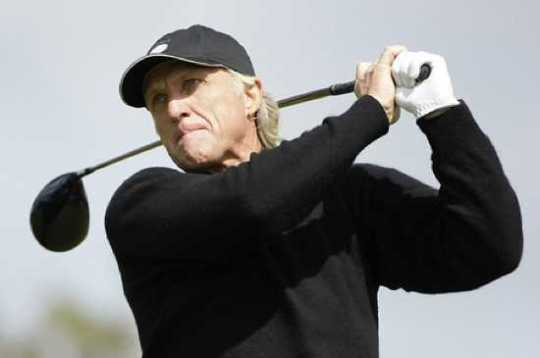 Large British Greg Norman