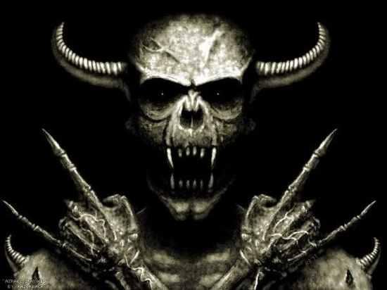 Satanic-Skull
