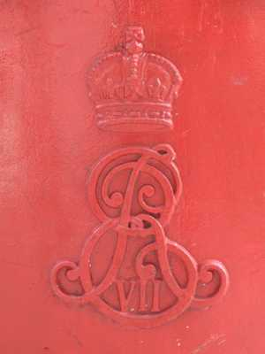 Edward Vii Postbox, Endsleigh Street, Wc1 - Royal Cipher - Geograph.Org