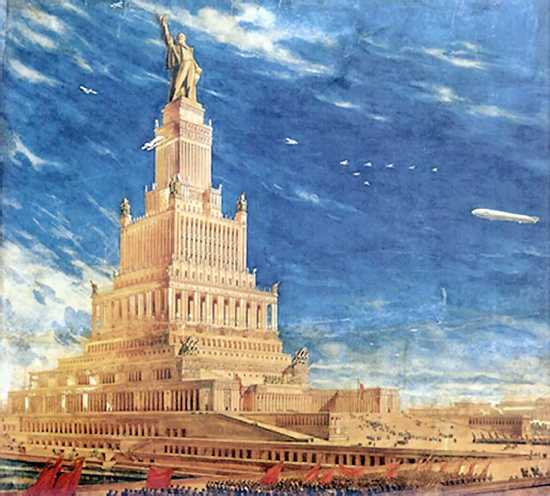 Iofan-Palace-Of-Soviets-Square-1933