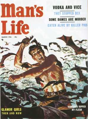 Man's Life - 1956 (03) March - Vampires Ripped My Flesh (Saunders)-8X6