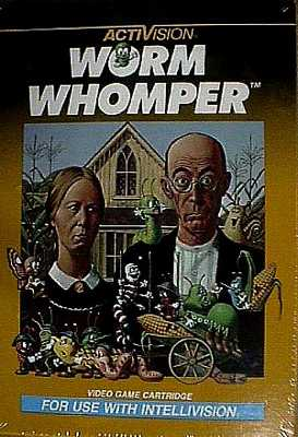 Worm Womper For Intellivision
