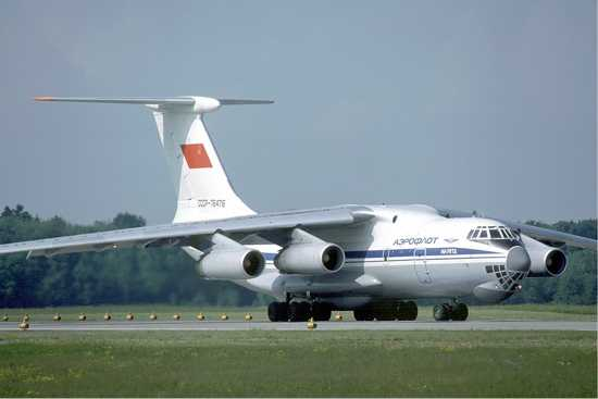 Aeroflot Ilyushin Il-76Td At Zurich Airport In May 1985