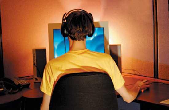Teenoncomputer