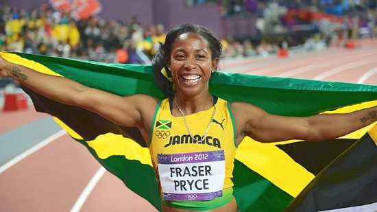 Shelly-Ann-Fraser-Pryce-Wins-Gold-At-London-Olympics