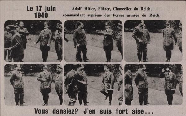 Hitler dancing