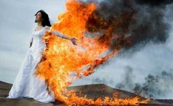 Bride On Fire