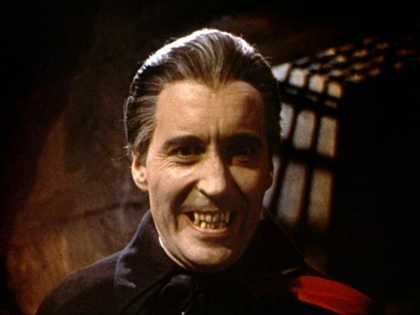 Dracula Smiling