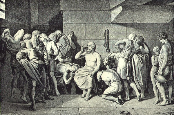 Socrates Drinking Hemlock