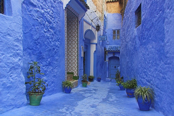 3-Morocco-Blue-City