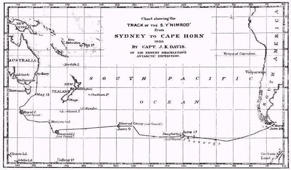 Nimrod.1909 Voyage