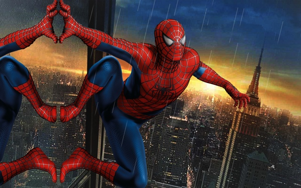 02-Best-Background-Movie-Desktop-Hd-Wallpapers Spiderman