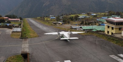 plane-at-tenzing-hillary-airport-lukla