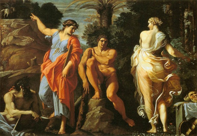 Annibale Carracci - The Choice Of Heracles - Wga4416