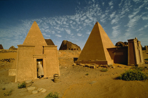 Sudan Meroe-Pyramids