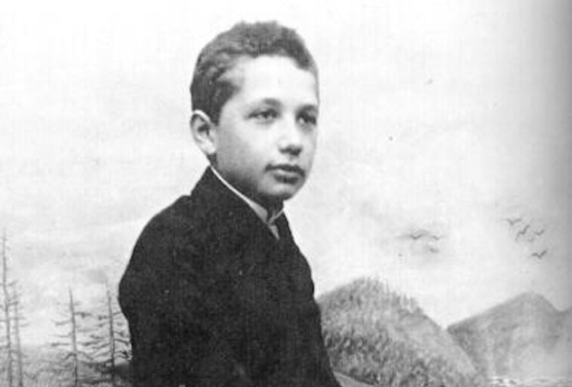 Einstein-1894 Approx-Young-Sized