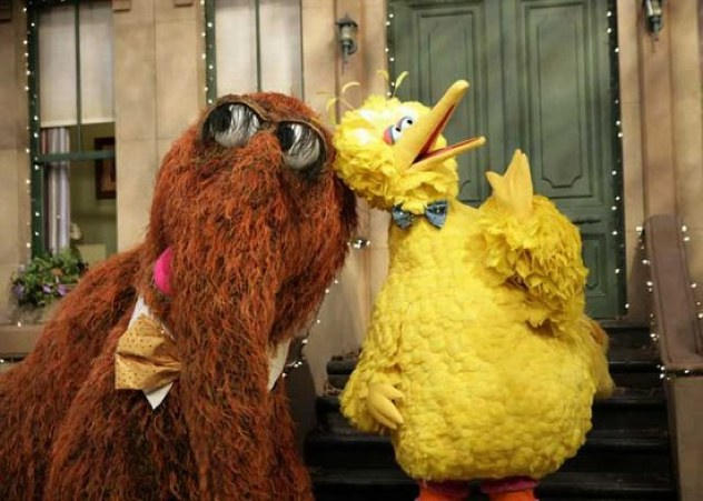 Snuffleupagus-And-Big-Bird