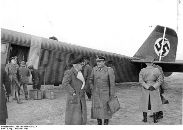 Russland, Wilhelm Canaris, v. Bentivegni