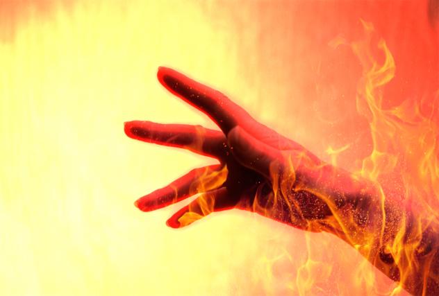 1- hand