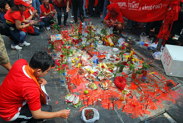 6- red shirt