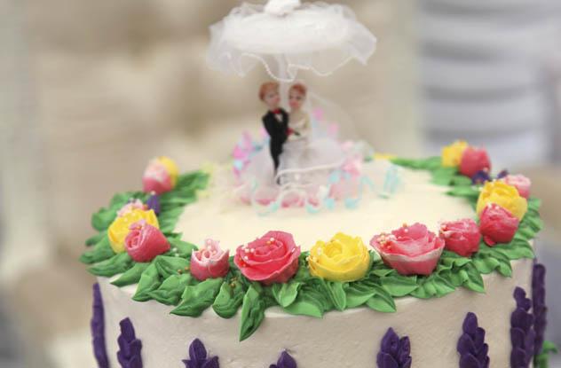 Child Destroys Wedding Cake