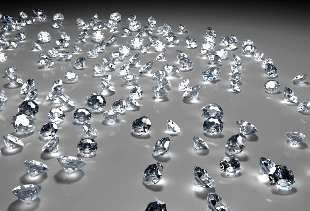 10- diamonds