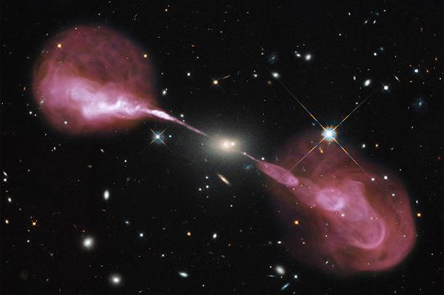 10- radio galaxy