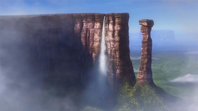 6- paradise falls