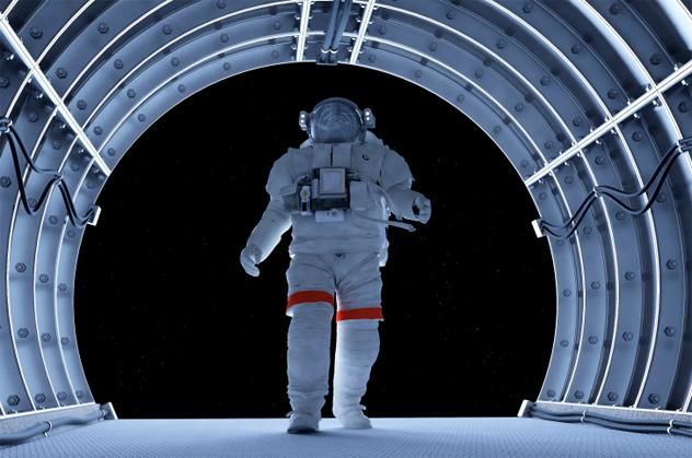 2- astronaut