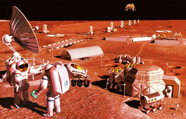 8- mars colony