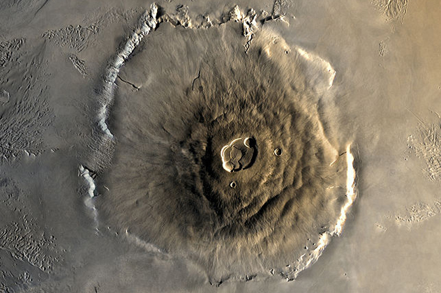 1-olympus - Volcanoes of other worlds - Photos Unlimited