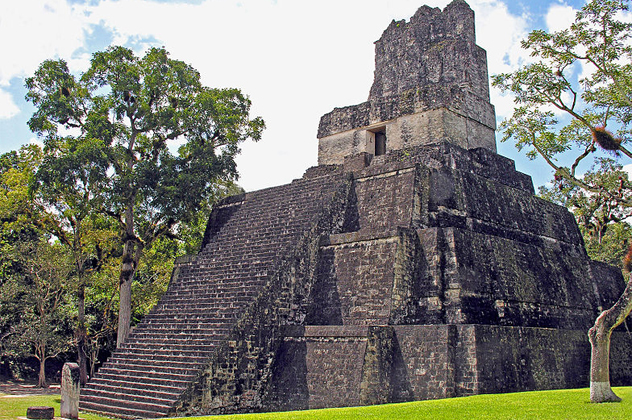 7- Great Plaza Temples