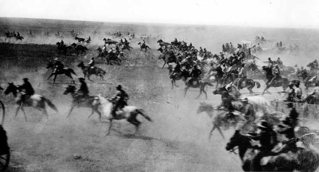 Cherokee Land Run