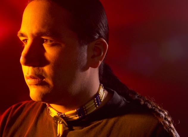 Unhappy Native American