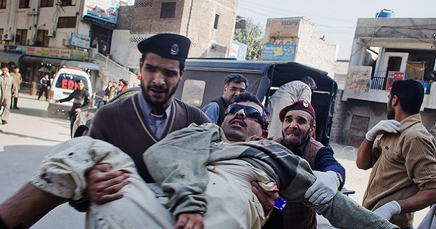 Many Killed in Peshawar Court House Suicide Blast