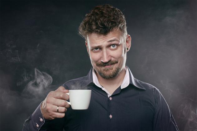 1- coffee dead people
