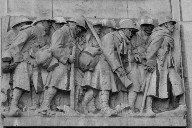 La Releve (Relief), Great War Memorial Monument aux Morts (Monum