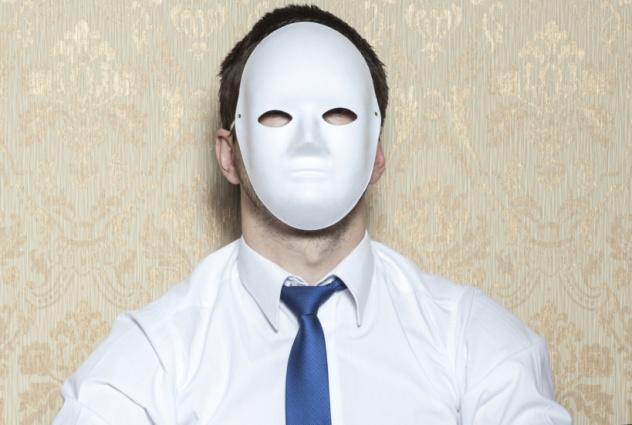 unrecognized businessman thinking about suicide