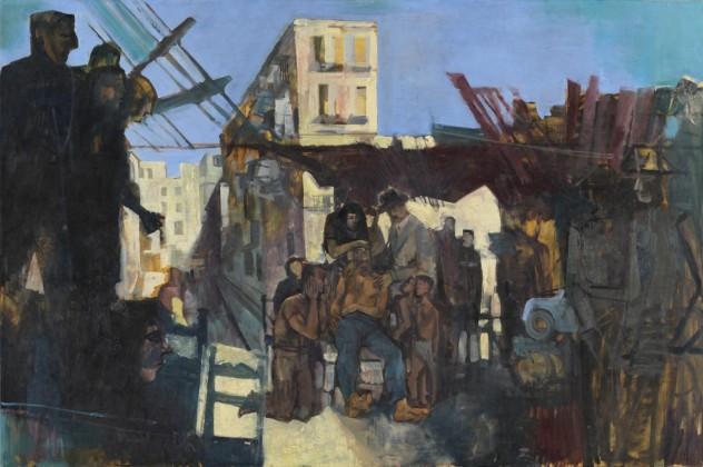 Composition: The Death of James Dean 1957 by John Minton 1917-1957